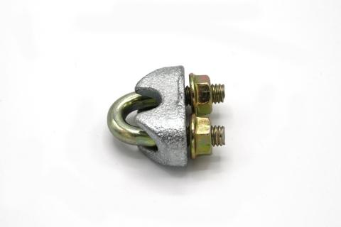Sicherheits-Drahtseilklemme D=6,5