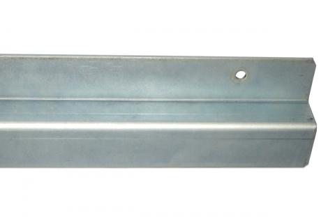 Z-Profil aus Stahl, verzinkt